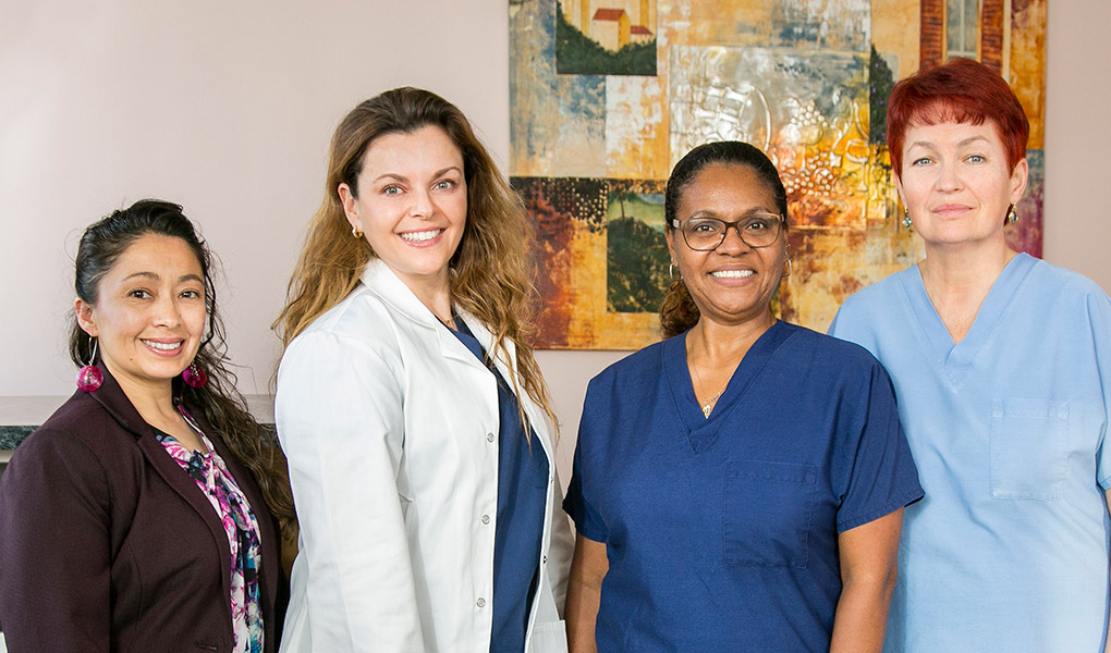 Dr. Carrie Berkovich and Staff